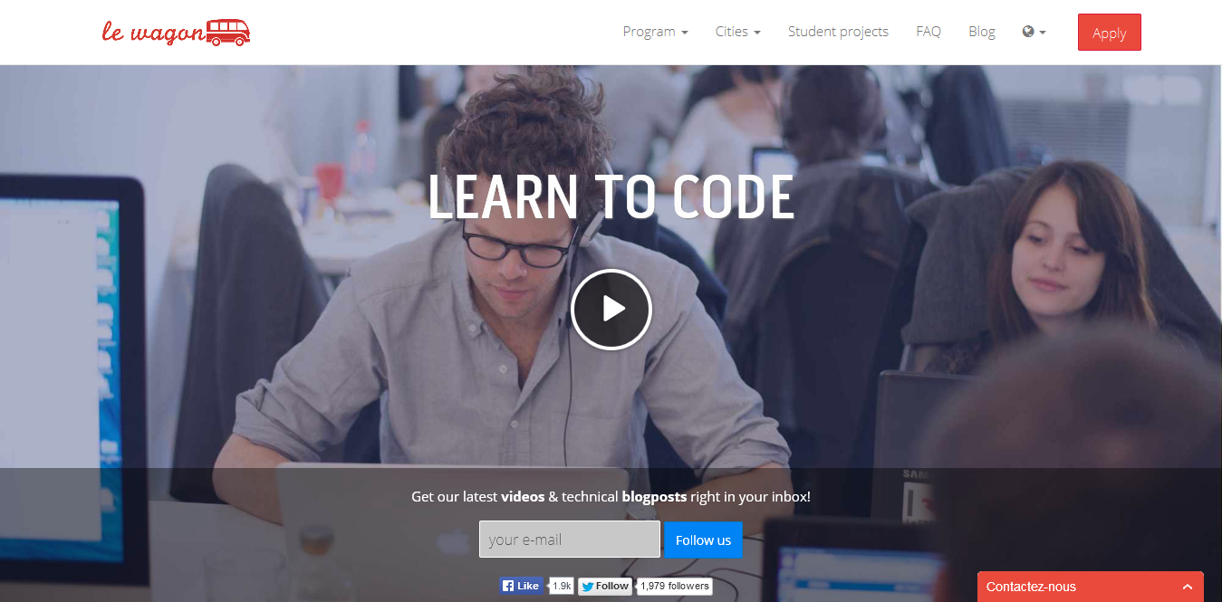 Le Wagon - The French innovative coding school