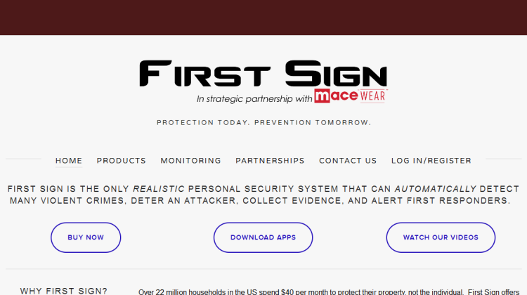irst sign wearables