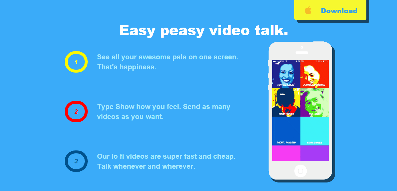 pop video chat app