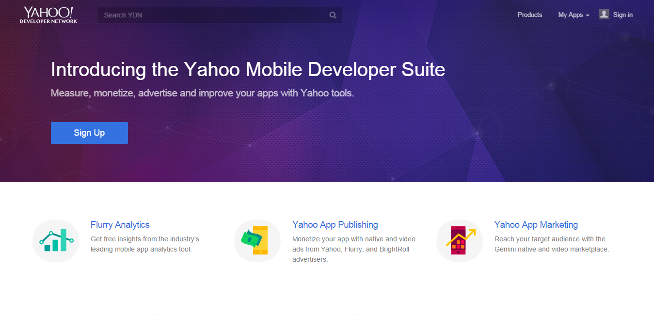 yahoo mobile development