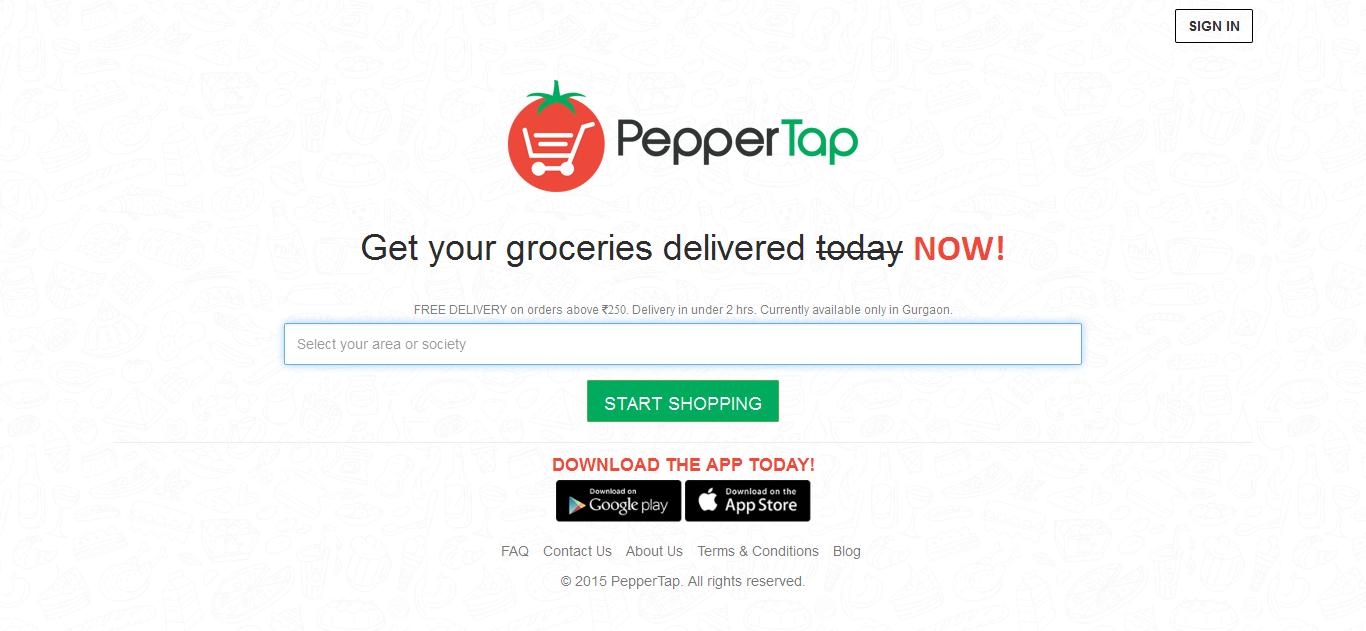 pepper tap