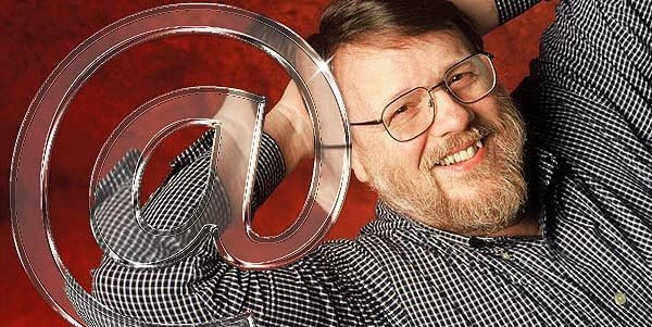 first email by Ray tomlinson