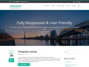 Ascent theme
