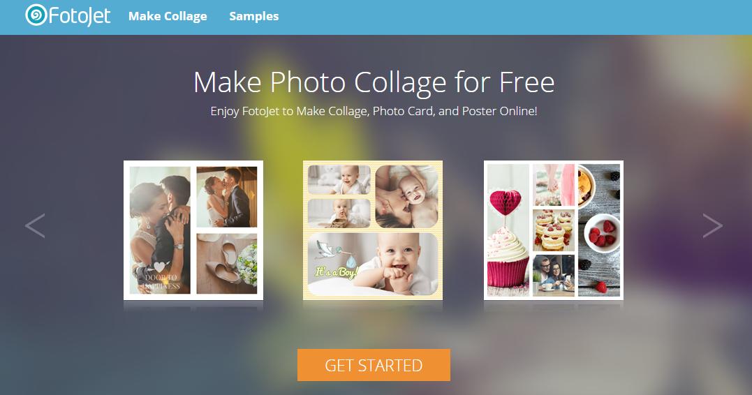 Fotojet Free Online Collage Maker