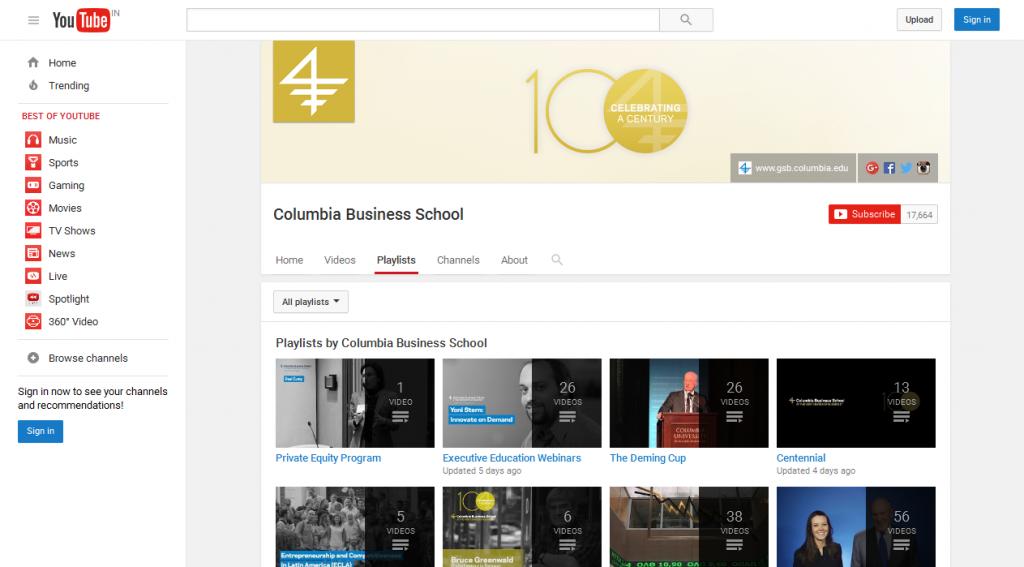 Columbia Business School - YouTube